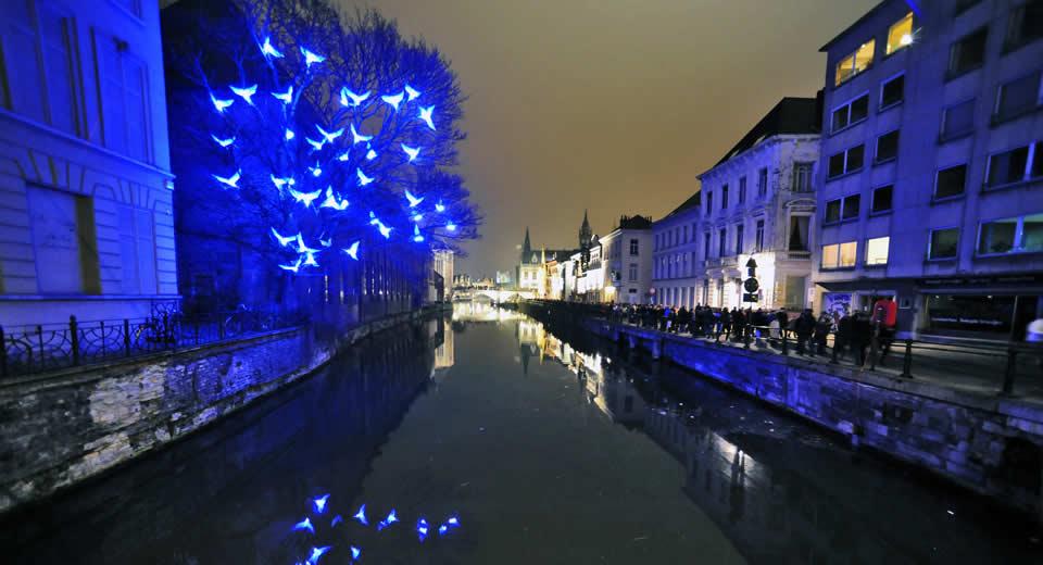 Lichtfestival in Gent, tips | Mooistestedentrips.nl