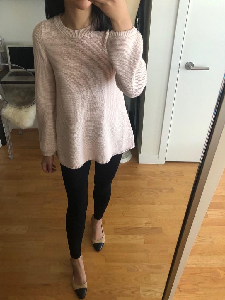 LOFT Swingy Sweater, size XXS regular