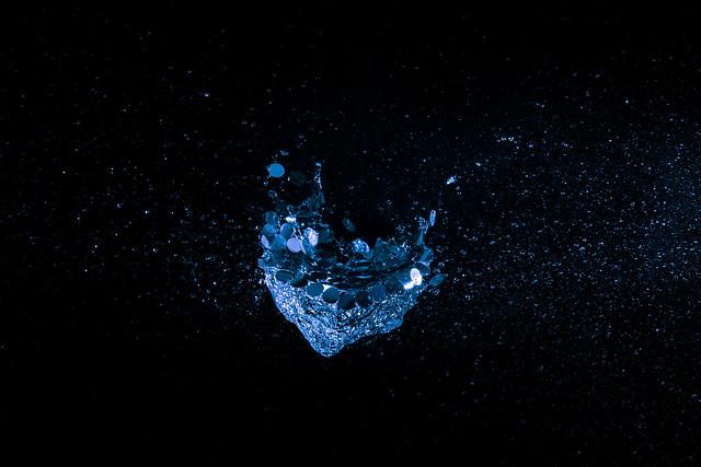 A splash in the dark