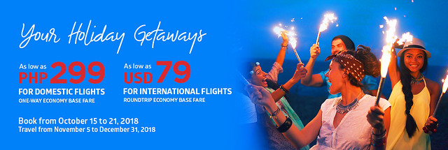 Your Holiday Getaways Philippine Airlines Promo 2018
