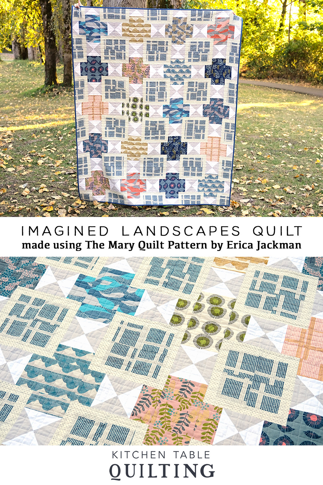 Imagined Landscapes - The Mary Quilt by Kitchen Table Quilting