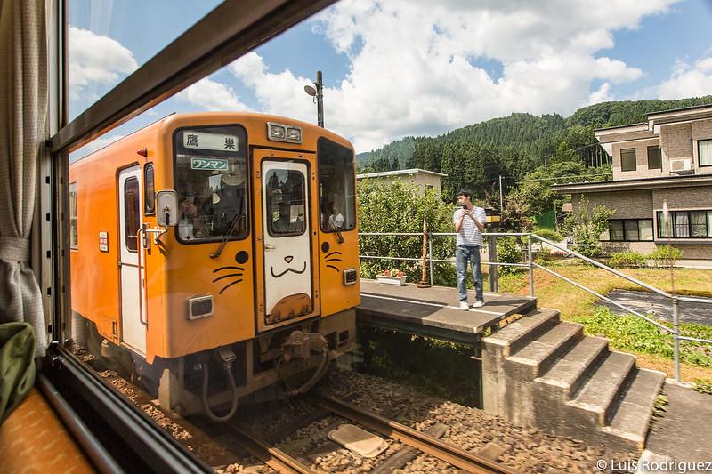 Tren de la línea Akita Nairiku