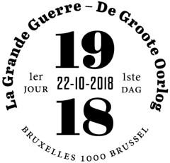 16 De Groote Oorlog 2018 zBruxelles F