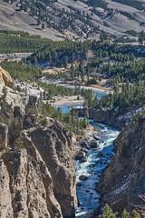 Yellowstone River Near Tower Fall