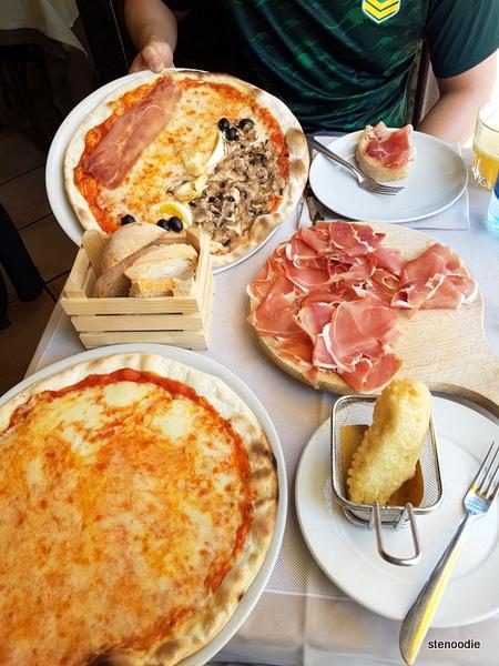 Naumachia Ristorante lunch