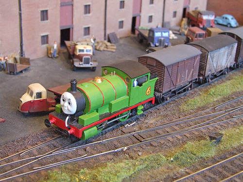 Percy shunts Melbridge Dock