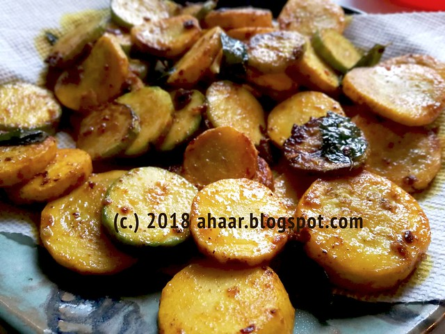 Summer squash with paprika