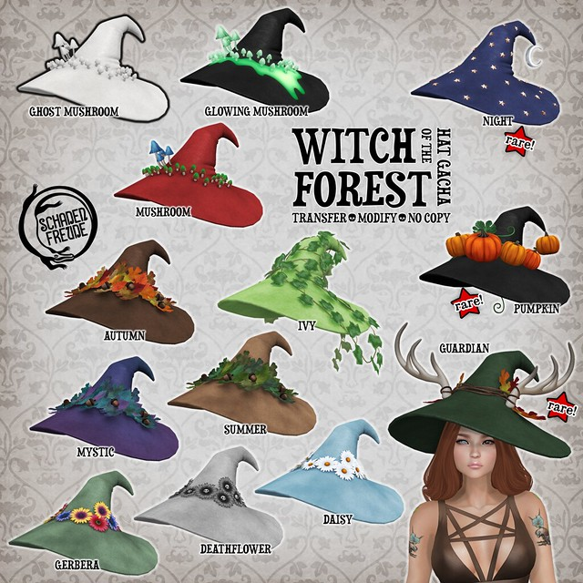 witch of the forest hat key