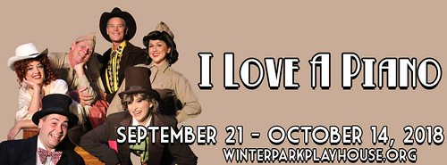 "Irving Berlin's ""I Love a Piano"" at the Winter Park Playhouse"