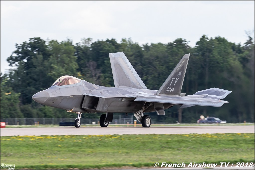 AFRC 70th Anniversary F-22 Raptor EAA Oshkosh