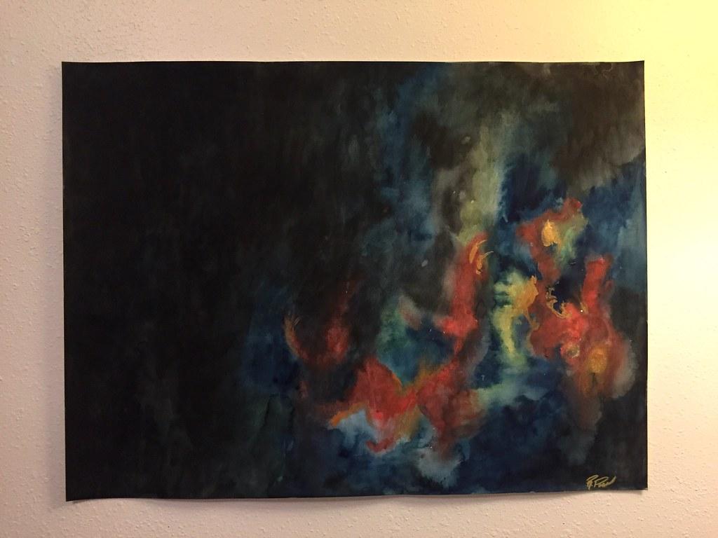 Rebecca Pons, BECCA PONS, BECCA PONS STUDIO, watercolor, fine art, FORBIDDEN FUTURE, 7 Ways Collection, Artist