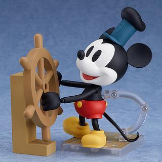 黏土人系列 《汽船威利號》米老鼠 1928年版本 (彩色/黑白)!ねんどろいど ミッキーマウス 1928 Ver.(カラー/シロクロ)