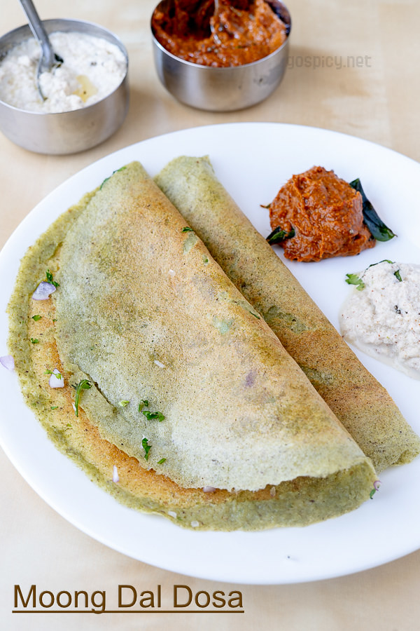 Pesarattu Recipe by GoSpicy.net/