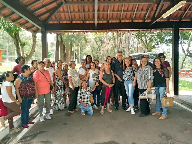 Segunda-feira, 15 de outubro de 2018 - A Residência Oficial de Águas Claras teve honra de receber um grupo de senhores da melhor idade, da Associação dos Idosos de Brasília.