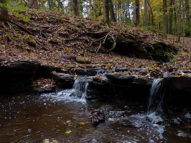 Falls on Buell Brook, Panasonic DMC-FZ35