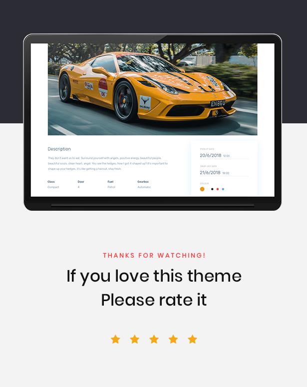 Leo Rent Car - Car Rental Website - 1