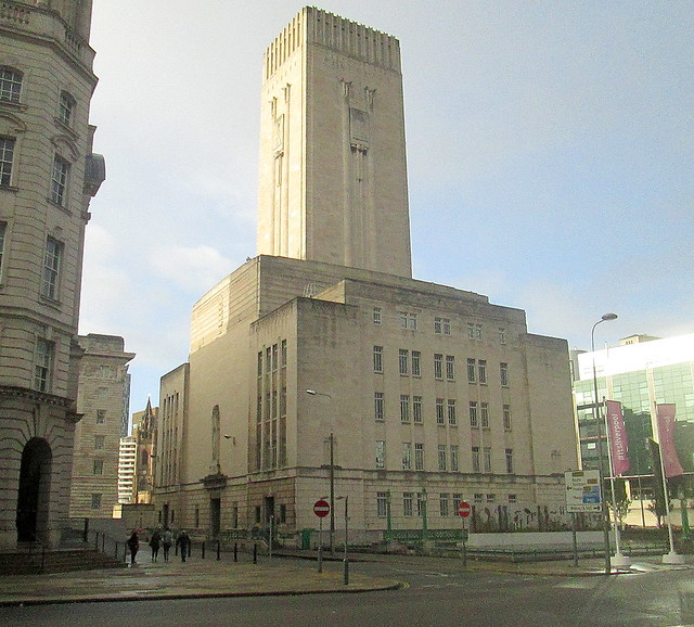 George's Dock Ventilation and Control Station,  Liverpool from Strand Street