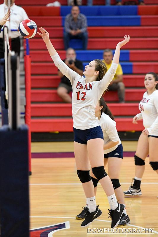 Foran High vs. Hand - High School Volleyball