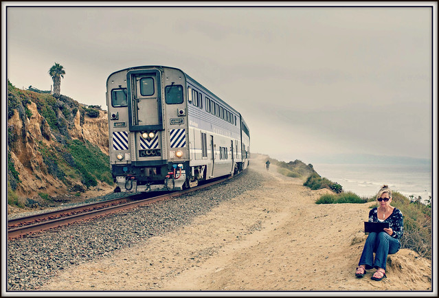 The Surfliner and The Artist