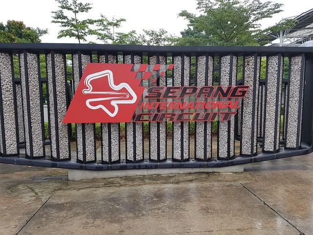 Malaysian Paddock Entrance