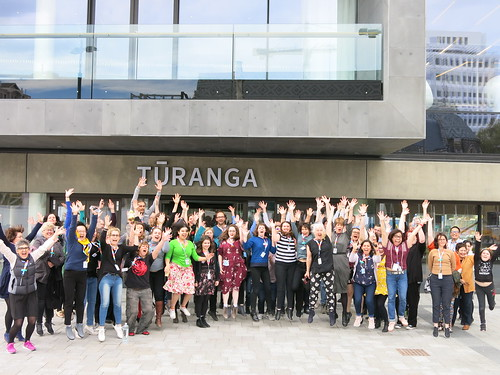 Tūranga staff. Flickr 2018-IMG_1061