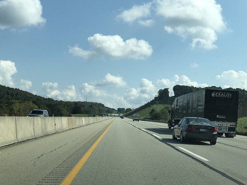 The PA Turnpike Eastbound