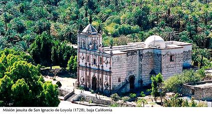 Misión SJ San Ignacio (1728) - baja California