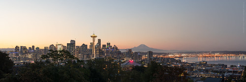 Kerry Park View at Dawn