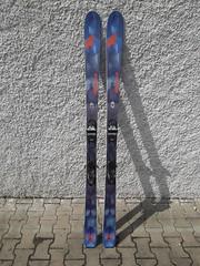 Prodám lyže Nordica Navigator 85 s vázáním Marker - titulní fotka