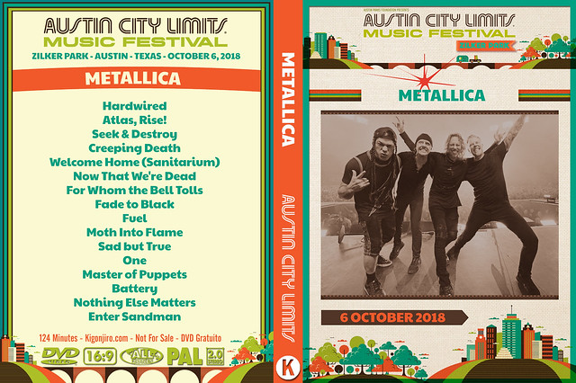 Metallica - ACL Festival 2018