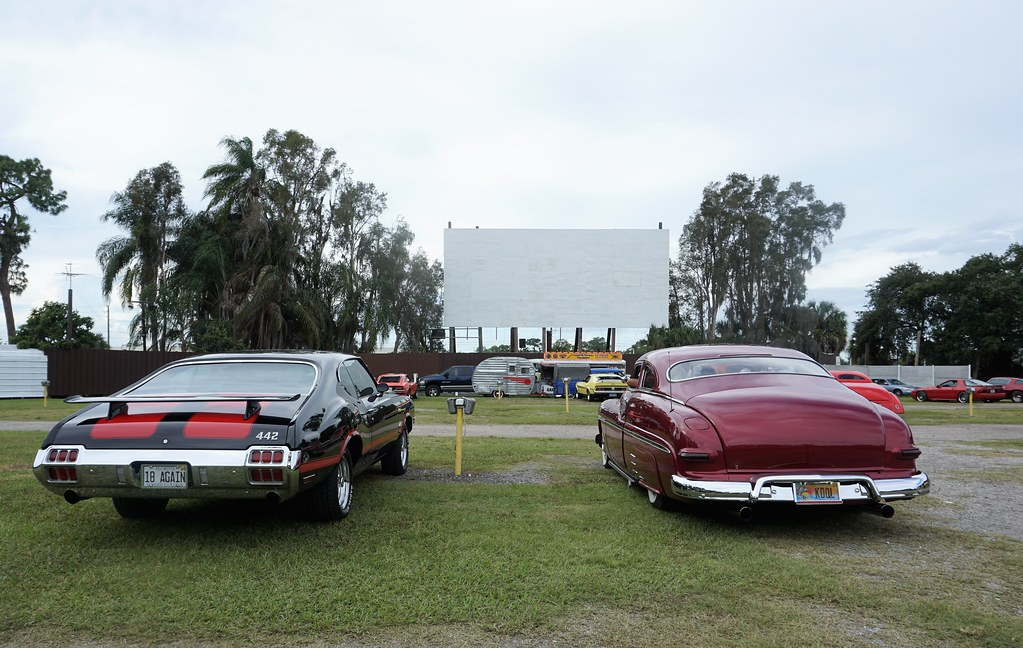 As of Aug. 2018, It's Believed Only Seven Drive-In Theatres Exist in Florida. Pictured: Ruskin Family Drive-In Theatre in Ruskin, Fla., Oct. 2018.