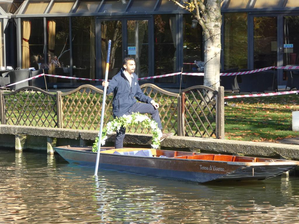 Wedding Punt, Cambridge