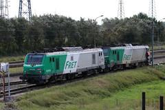 BB 27079 et BB 27072 à Grande-Synthe