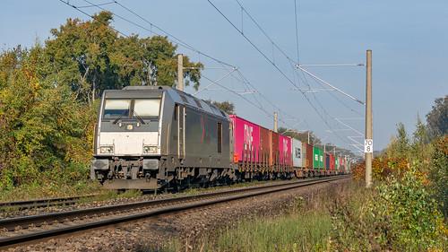 Elten RheinCargo DE805 met DuKo Shuttle