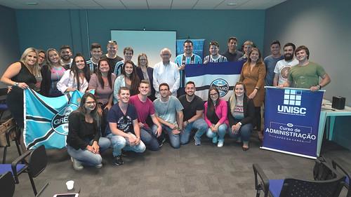 Encontro com estudantes da UNISC