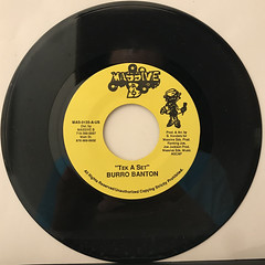 BURRO BANTON:TEK A SET(RECORD SIDE-A)