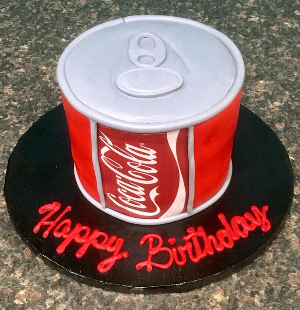CocaCola Cake by Aldine's Cake Creations