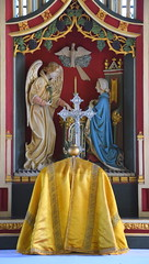 Annunciation and tabernacle
