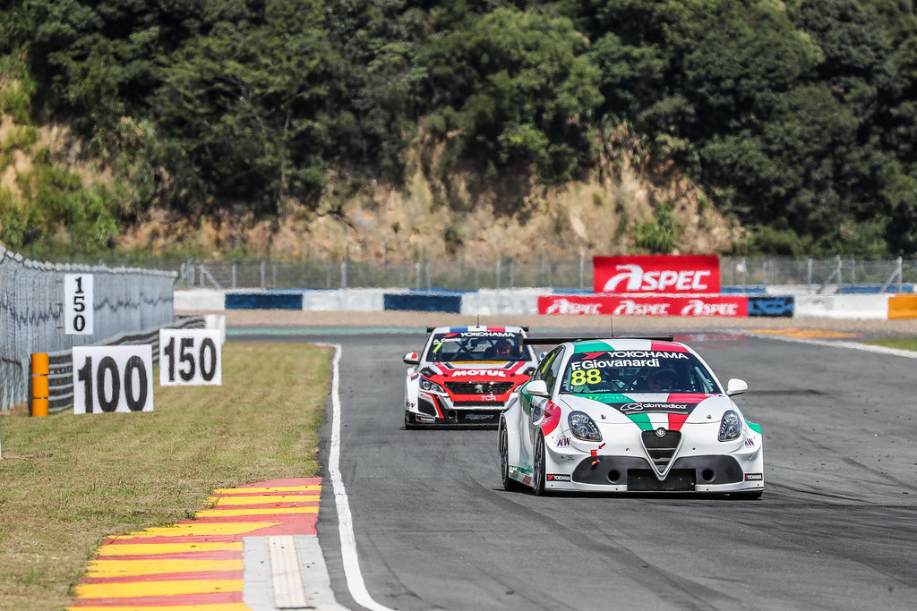88 GIOVANARDI Fabrizio, (ita), Alfa Romeo Giulietta TCR team Mulsanne, action during the 2018 FIA WTCR World Touring Car cup of China, at Ningbo  from September 28 to 30 - Photo Marc de Mattia / DPPI