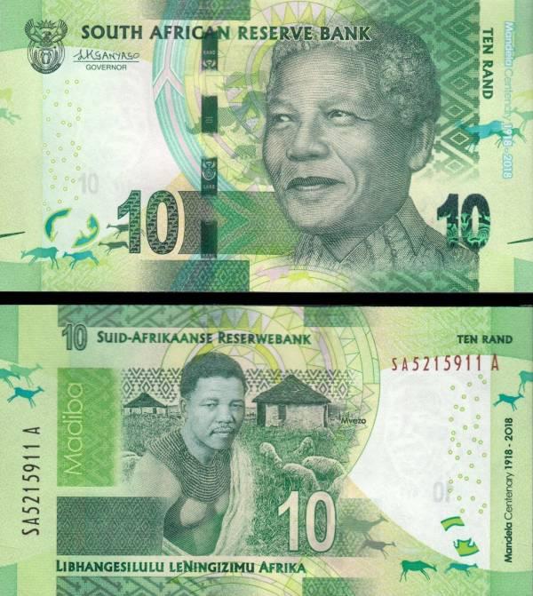 10 Randov Južná Afrika 2018, Mandela P143