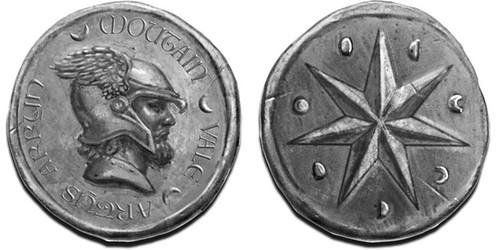 Artys Arryn Star fantasy coin