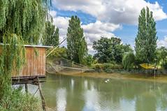 Les cabanes de pêcheurs le long de la Charente