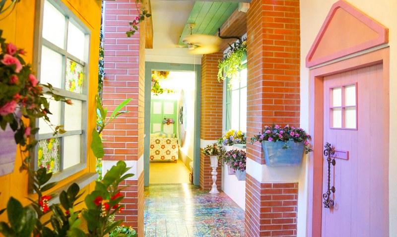 D.G Hotel旅店花園餐廳 (8)
