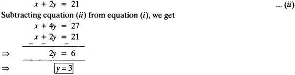 NCERT Solutions for Class 10 Maths Chapter 3 Pair of Linear Equations in Two Variables 55