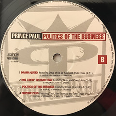 PRINCE PAUL:POLITICS OF THE BUSINESS(LABEL SIDE-B)