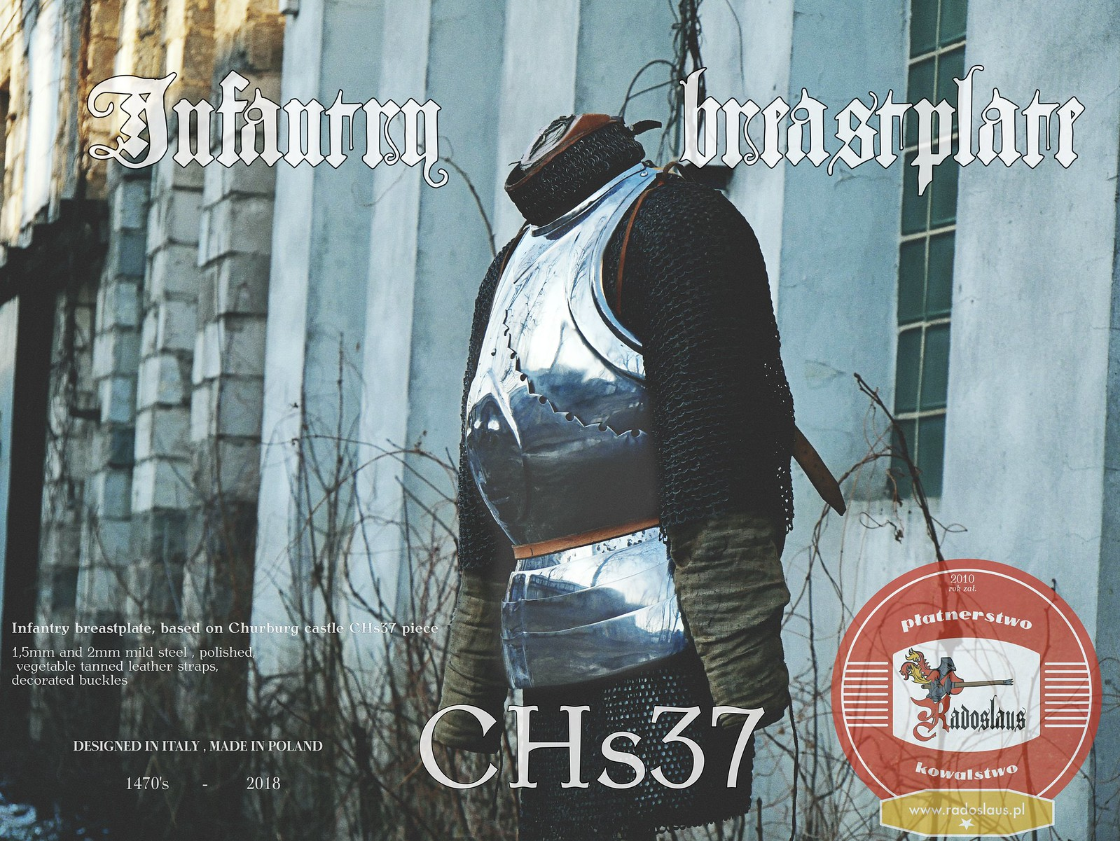 Infantry 1470's breastplate Chs37
