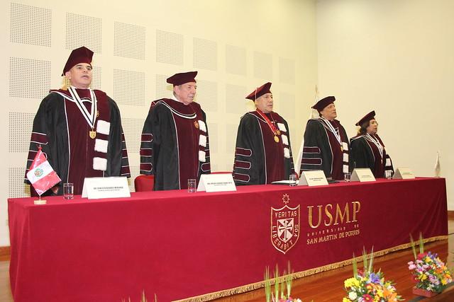 Universidad de San Martín de Porres entregó distinción de Doctor Honoris Causa al Arq. Enrique Ciriani Suito