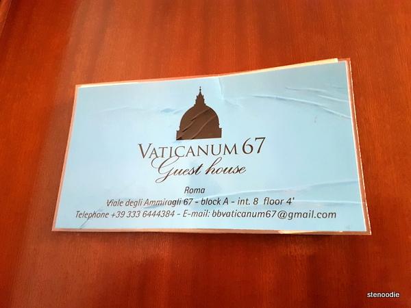 Vaticanum 67 details