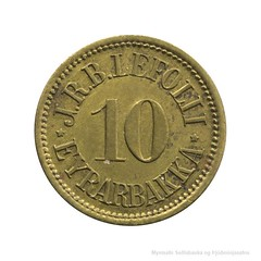 Iceland token 2 obverse