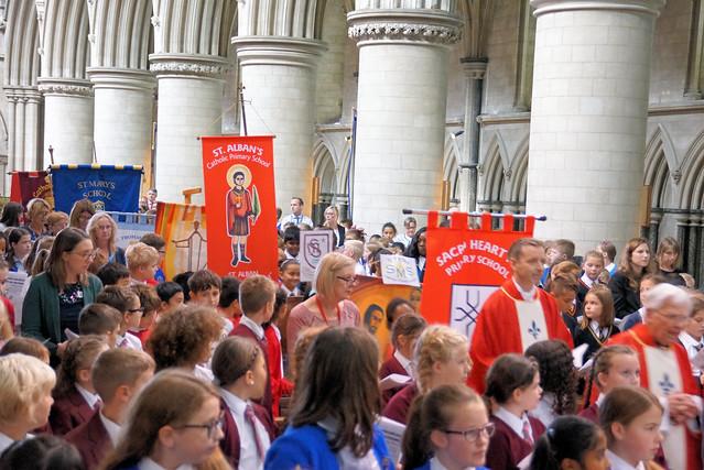 Schools Mass St John's Norwich Sept 18